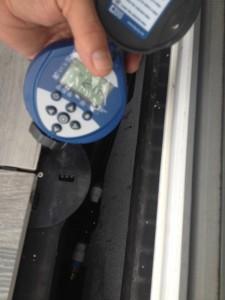 A drip irrigation timer