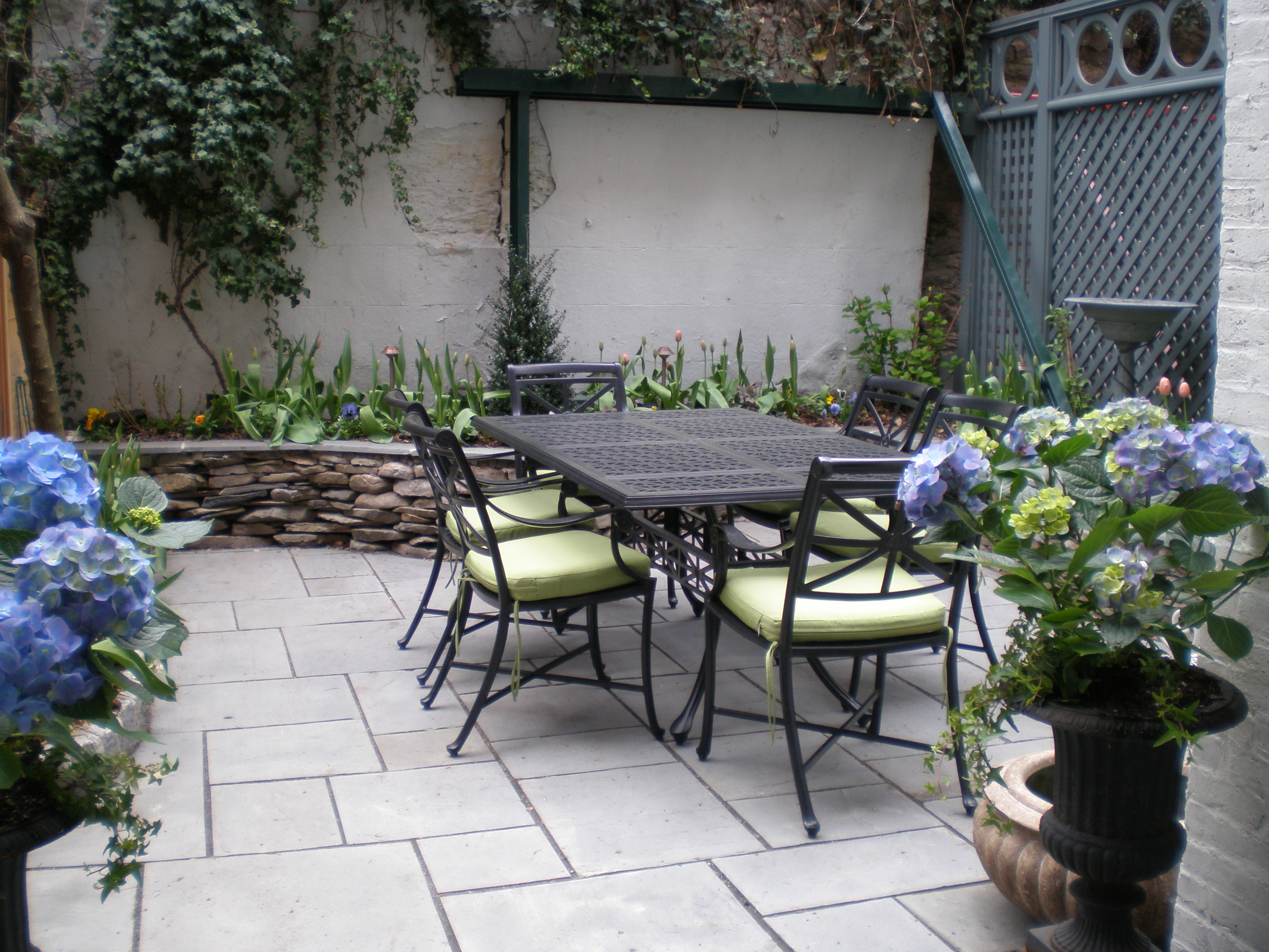 Hardscaping Dry Garden Landscaping Ideas : Hardscape design and installation