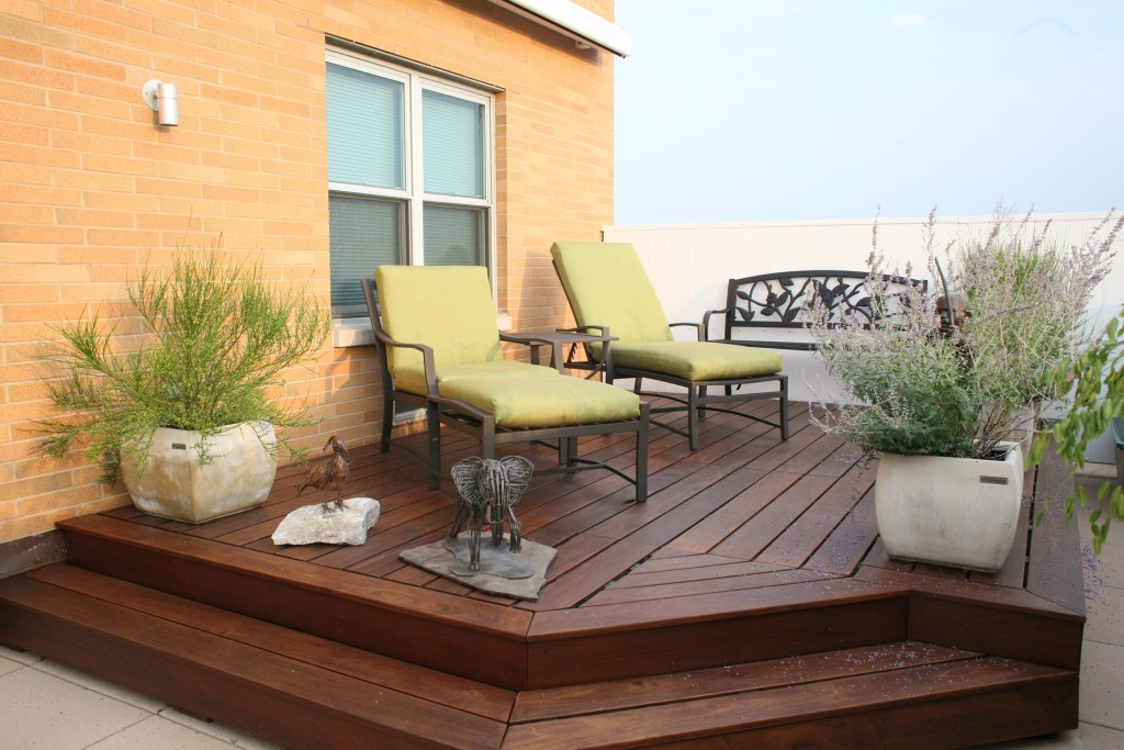 Wood Joist And Post Decks · A Deck Designed With Wood Beams And Joists