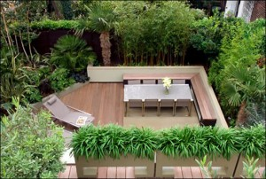 Zen meditation gardens in NYC