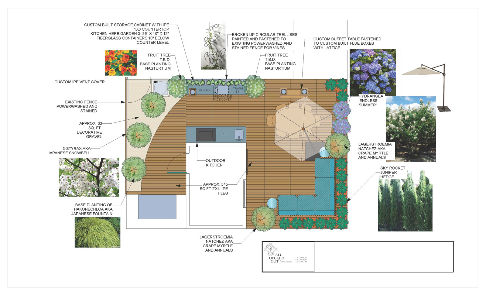 Roof landscape ideas landscape plan roof level sc 1 st for Landscape garden design plans